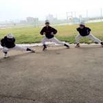 横コサックダンス
