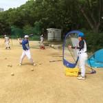 炎天下の大阪城公園
