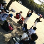 今日も大阪城公園!