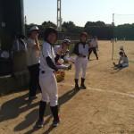 本日、大阪城公園で練習!