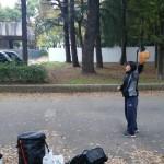 林間キャッチボール