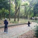 この日は大阪城公園が