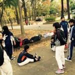 今日は大阪城公園