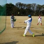 翌日は大阪城公園で練習始め