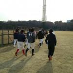 城公園練習を開始!
