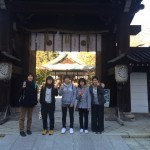 恒例、白峯神社へ必勝祈願!