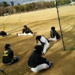 今日は大阪城公園!