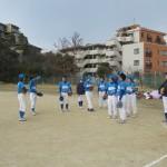 試合後、合同練習を熱望!