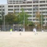 午後はグラウンド練習。