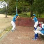 野球教室!