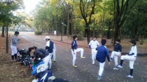 この日も、大阪城公園が