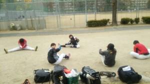 下福島運動場です