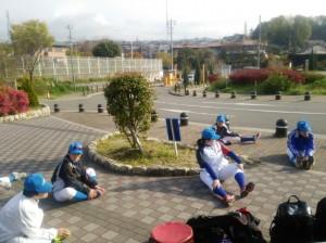この日は関西大会開幕日!