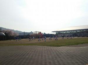 高槻市の古曽部防災公園です。