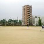 長池運動場練習!