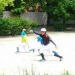 下福島運動場練習