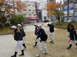 寺田町野球場です。