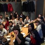 この日は京橋で忘年会!