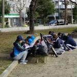 韓国からの留学生さんが見学に。