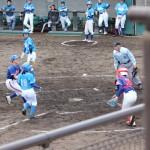 ちゃんと野球してる写真(笑)