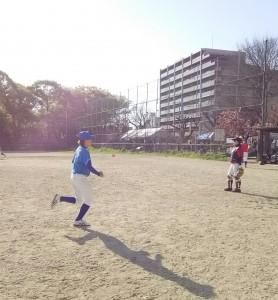 走塁練習です!