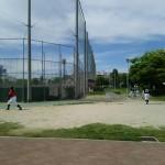 この日は歌島運動場で練習!