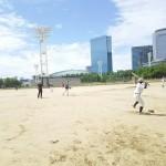 大阪城公園太陽の広場に