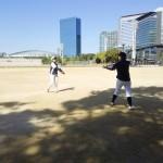 ちなみに大阪城公園の練習を
