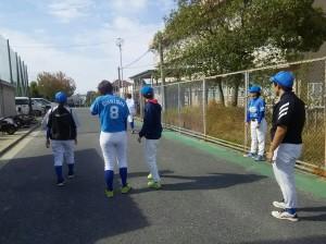 この日はさつき野野球場で