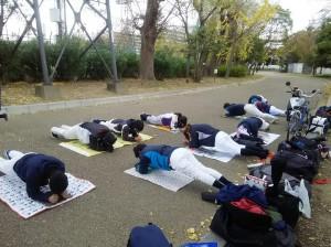 この日は、住之江公園で