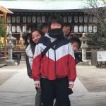 白峯神社へ必勝祈願!