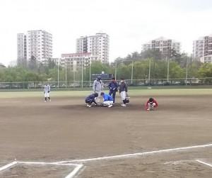 駒ヶ谷運動公園です。