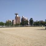 真田山公園で練習!