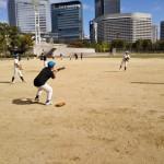 太陽の広場で練習するのは、