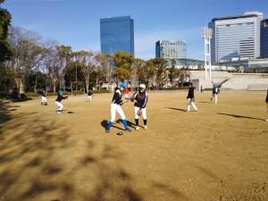 いとしの大阪城公園。