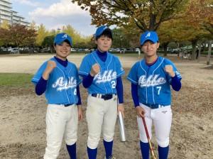 関西選抜にこの3人が出場。